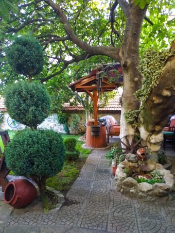 Къща за гости в Сопот снимки от двор
